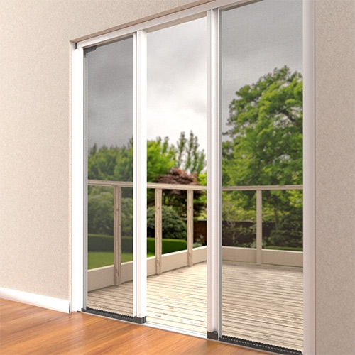 Pet Safe Sliding Fly Screen For Patio Doors Double Or French Doorways