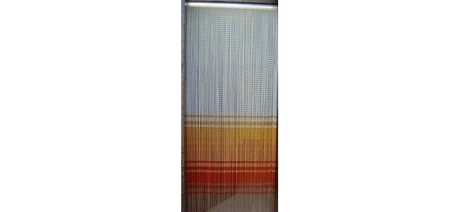 Chain Link Door Insect Curtain Screen - Infinity