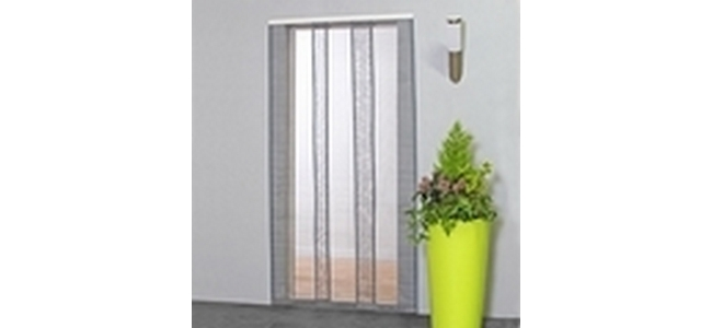 Mesh Strip Door Fly & Insect Screen Curtain - 130cm x 230cm