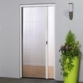 Pleated Sliding Door Insect Screen - 160cm wide