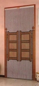 Metal Chain Door Fly Screen - Saloon Doors