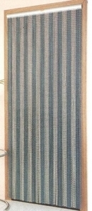 Metal Chain Door Fly Screen - Stripes